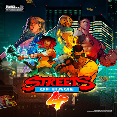Album Artwork for the Streets of Rage 4 soundtrack