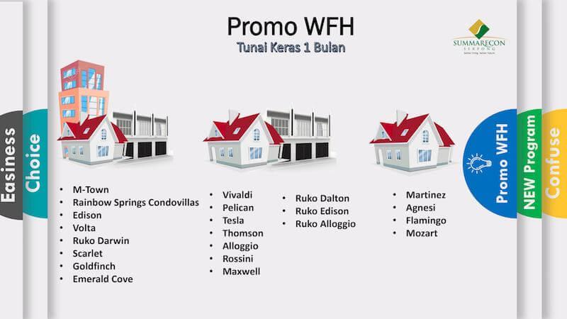 Promo WFH Tunai Keras 1 Bulan