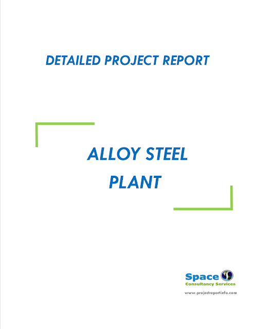 Project Report on Alloy Steel Plant