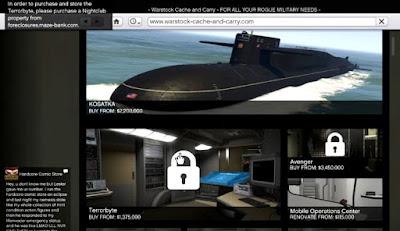 Submarine, Get Started, Cayo Perico Heist, GTA Online