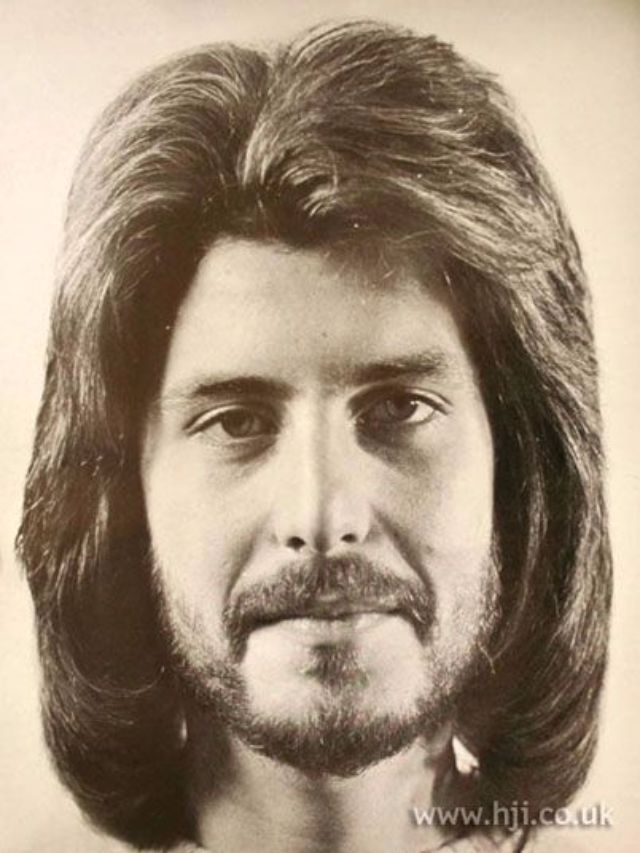 Vintage Everyday 1970s The Most Romantic Period Of Men's Hairstyles