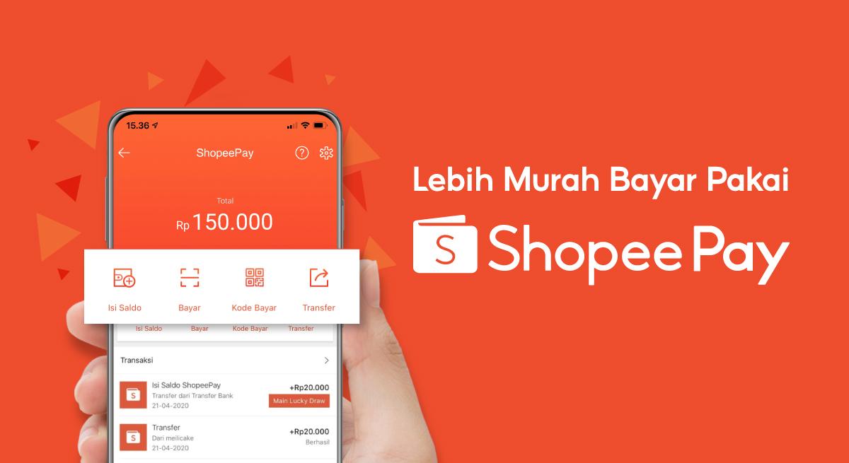 Cara Mengisi / Top Up Shopeepay melalui ATM, Alfamart, dan Indomaret