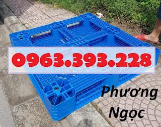 Pallet nhựa kê kho, pallet nâng hàng, pallet nhựa lót sàn nhựa nguyên sinh