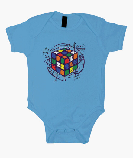 Bodies Bebé - Diseño Cubo de Rubik