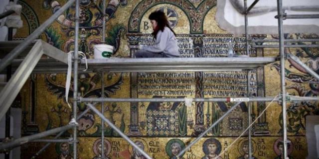 Ini Kerukunan! Rakyat Palestina Merenovasi Gereja Tempat Lahir Yesus
