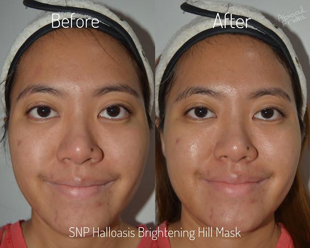 [Review] SNP Halloasis Moisture dan Brightening Hill Sheet Mask