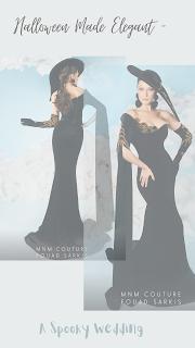 Black one sleeve dress-wedding theme-wedding party-Weddings by KMich Philadelphia PA