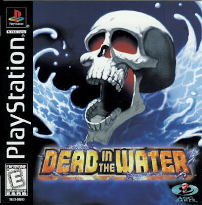 Front cover for the Sony PlayStation version of the video game Dead in the Water.