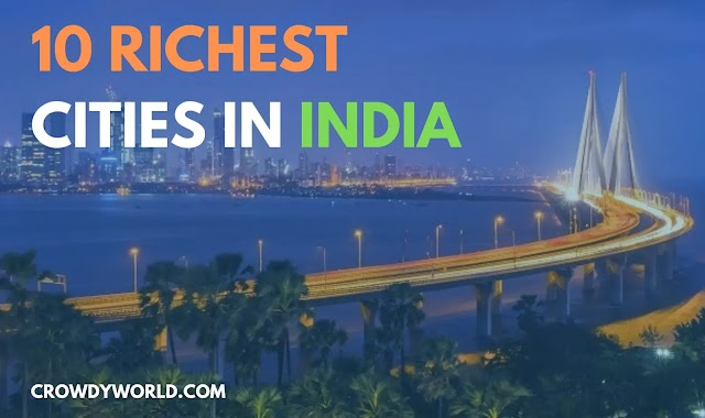 Top 10 Richest City In India in 2021 | By GDP