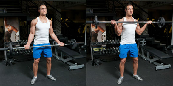 triceps and biceps exercises