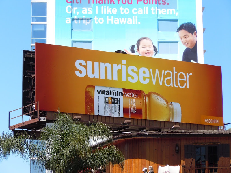 Vitamin Water Sunrise billboard