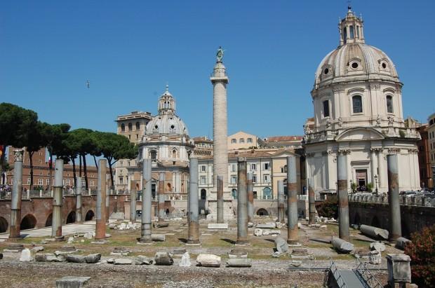 Histórico da Coluna de Trajano em Roma