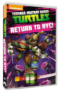 DVD Review: Teenage Mutant Ninja Turtles: Return To NYC!