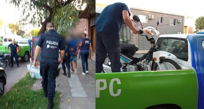 Le robaron la moto y la recuperó gracias a las cámaras municipales