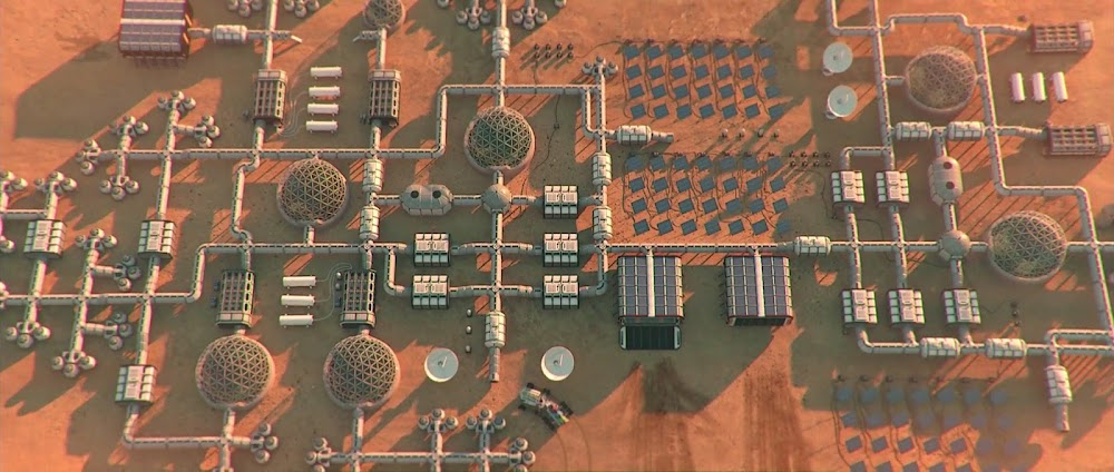 Mars base layout - image from Occupy Mars game