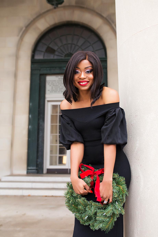 Off shoulder maxi dress, www.jadore-fashion.com