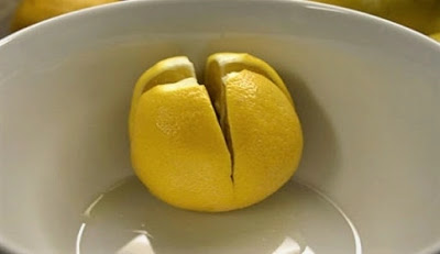 Cut the lemon and put it next to her bed. Reason? This is something everyone should try!