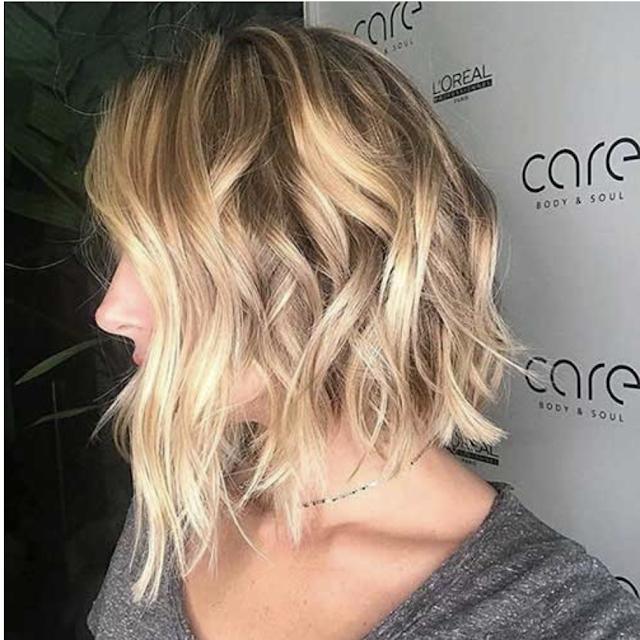 bob hairstyles short messy