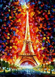 Parisinos Paisajes Modernos Cuadros