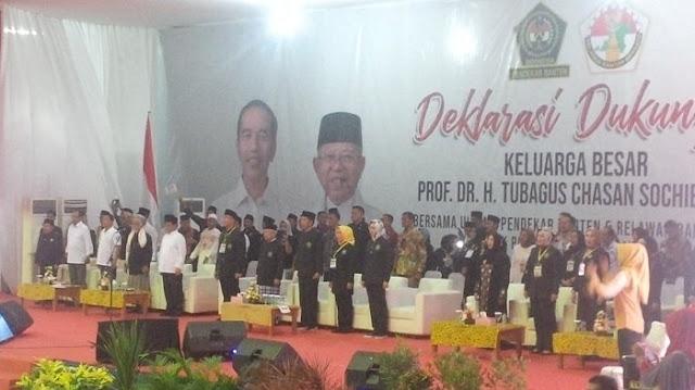 Jokowi Akui Masih Kalah 9 Persen dari Prabowo di Banten