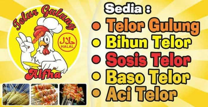 banner horizontal warung makan
