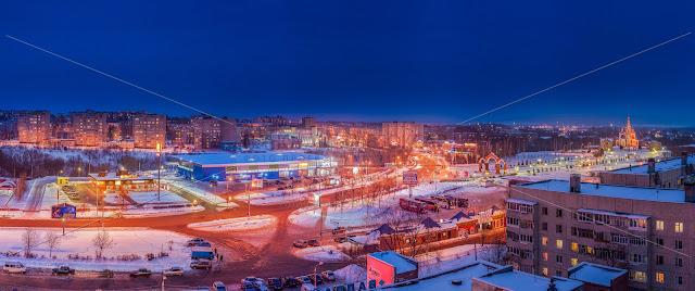 Зимний Новочебоксарск. Фото.