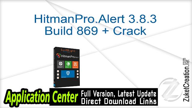HitmanPro.Alert 3.8.3 Build 869 + Crack