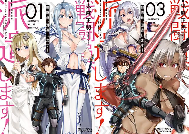 Novelas Sentouin, Hakenshimasu! tendrán adaptación al anime