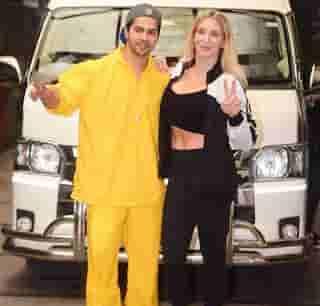 Varun Dhawan With Charlotte Flair