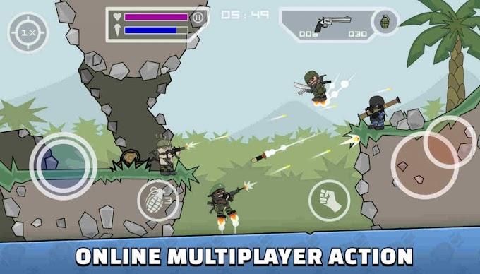 Mini Militia Doodle Army 2 New Version Hack Mod Apk