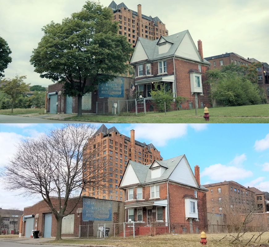 Then & Now Movie Locations: Don't Breathe