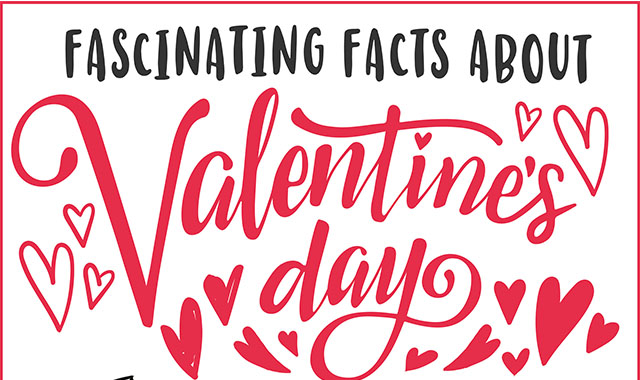 Fascinating Facts About Valentine day #Infographic