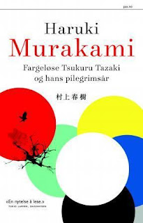 Omslag Fargeløse Tsukuru Tazaki og hans pilgrimsår