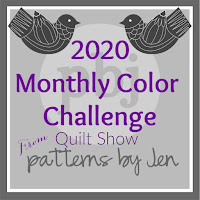 2020 Monthly Color Challenge Quilt Party