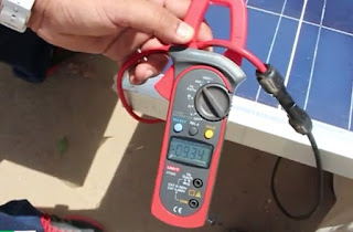Solar panel check kare