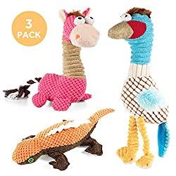 Quietschendes Hundespielzeug im 3er Pack gefällig?