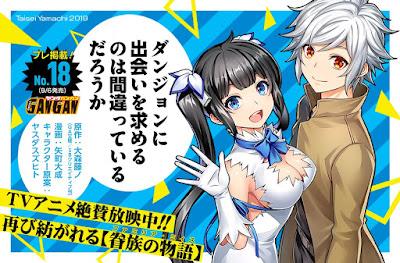 "Manga: El manga ""Danmachi"" cambia de dibujante"