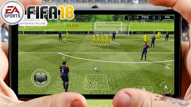 لا تضيع فرصة تحميل اخر اصدار من لعبة fifa 2018 للأندرويد مجانا