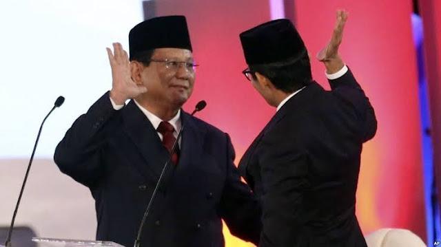 Refly Sebut Pilpres 2024 Bisa Saja Jadi Ajang Pertarungan Prabowo dan Sandiaga Uno