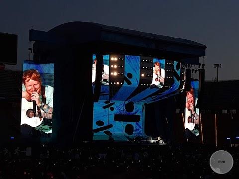 Ed Sheeran construye su música en el Estadi Olímpic || Crónica Divide Tour 2019 Barcelona
