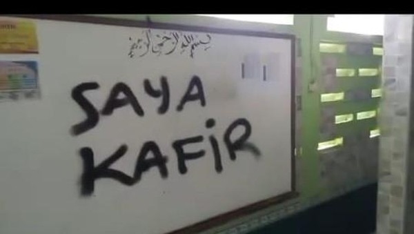 Viral Video Musala Dicoret 'Saya Kafir' di Tangerang, Polisi Turun Tangan