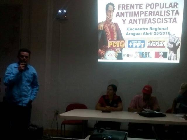 Realizado Encuentro del FPAA en Aragua