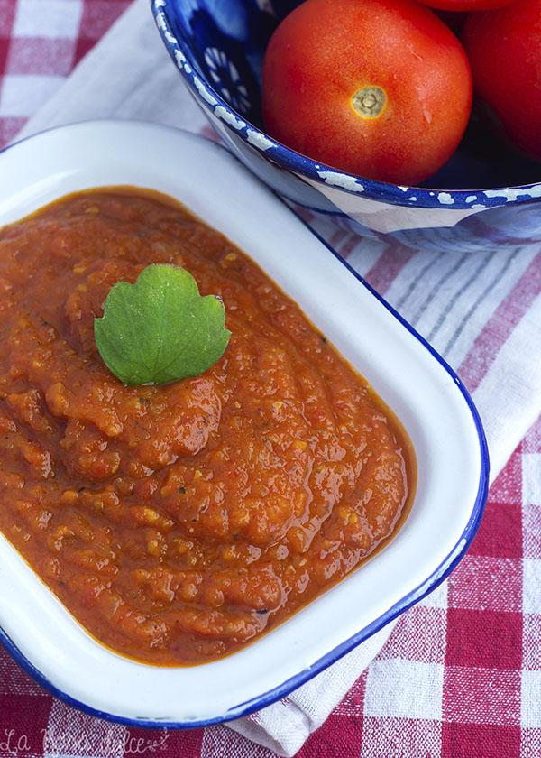 Salsa de tomates asados, cómo hacerla y conservarla.