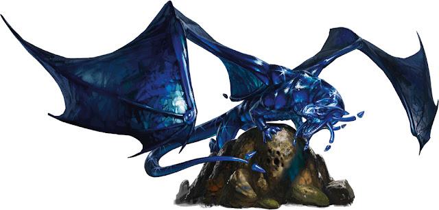 Reseña D&D - Guía del Aventurero de la Costa de la Espada - Dragón Zafiro
