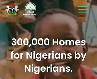 300,000 National Social Housing Scheme (NSHS)