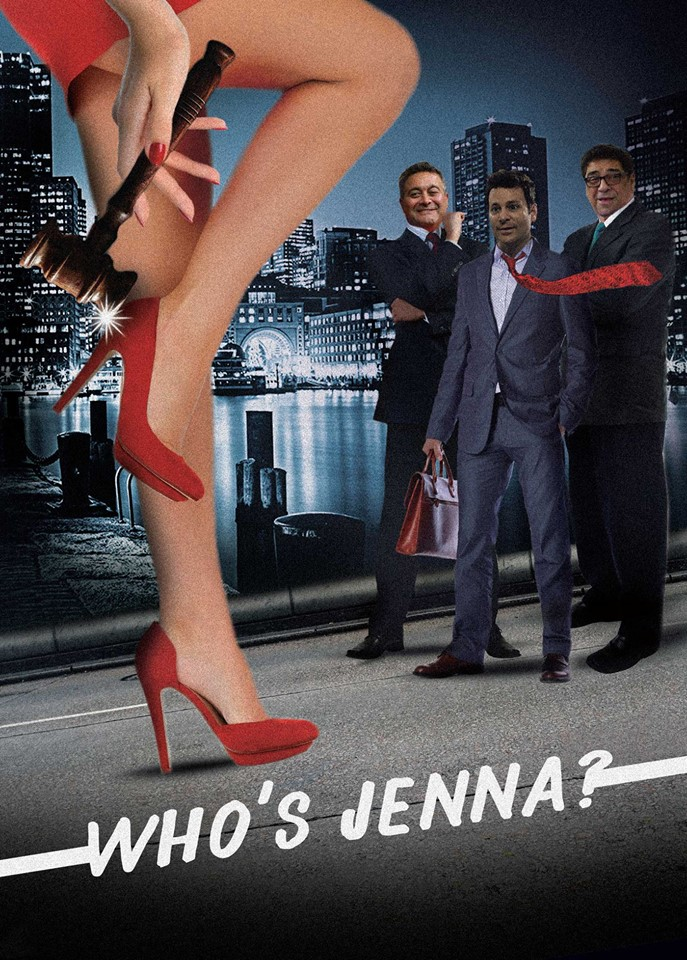 WHO'S JENNA poster