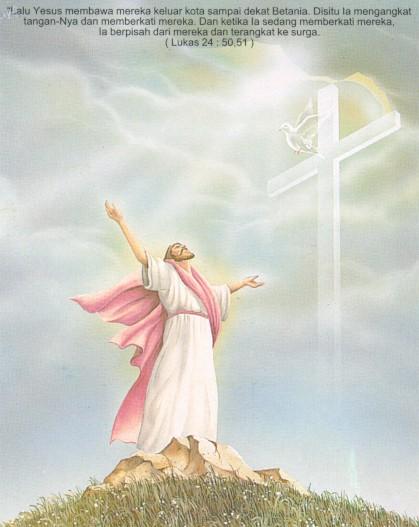 Solidaritas Anak Bangsa Kenaikan Yesus Ke Surga Engkau Akan Menjadi Saksi Saksi Ku