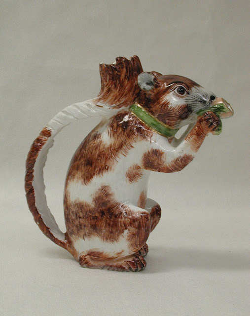 Animals in Art - Squirrel Teapot. Companion Animal Psychology News, Aug 2019