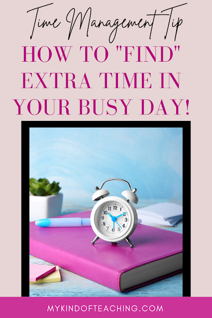 How to find extra time in your day