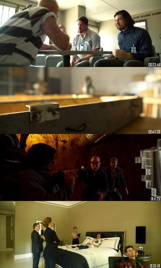 Logan Lucky 2017 BRRip 720p 480p Dual Audio Hindi English Full Movie Download